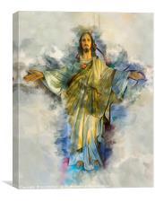 Presence of god, Canvas Print
