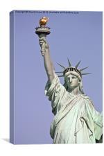 Lady Liberty, Canvas Print
