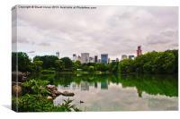 Central Park Skyline, Canvas Print