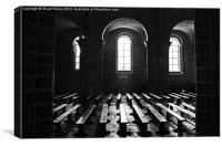Chapel at Mont Saint-Michel, Canvas Print