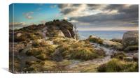 On top of the Roaches, Peak District, UK, Canvas Print