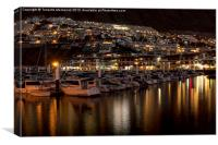 Los Gigantes Marina @ night