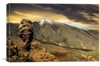 Mount Teide and Roque Cinchado