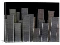 Staple City Skyline, Canvas Print