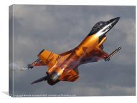 RNAF F-16 Falcon, Canvas Print