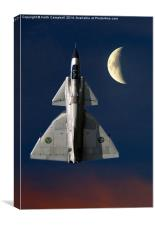 SAAB Viggen in orbit, Canvas Print