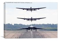 AVRO Trio, Canvas Print