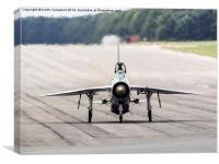 RAF Lightning XR728 head-on, Canvas Print