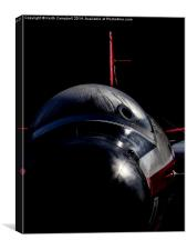 Canberra WT333, Canvas Print