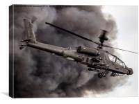 British Army Apache, Canvas Print
