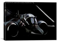 Bended-wing Buccaneer, Canvas Print