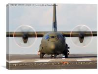 Royal Air Force C-130 Hercules props, Canvas Print