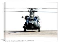 Special Forces MH-47 Chinook, Canvas Print