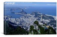 Rio de Janeiro, Canvas Print