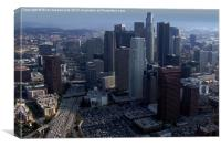 Downtown Los Angeles, Canvas Print