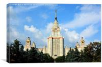 Moscow State University, Canvas Print
