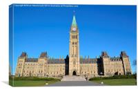 Peace Tower, Canvas Print