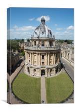 Radcliffe Camera Oxford, Canvas Print