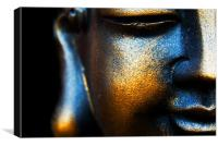 THE FACE OF BUDDHA, Canvas Print