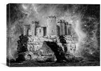 Castle of Dreams, Canvas Print