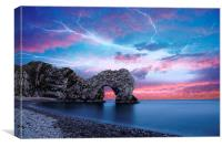Durdle Door by JCstudios, Canvas Print