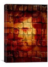 Burnt Bricks or Burns on bricks...( You decide), Canvas Print