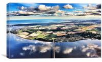 Fife Aerial View, Canvas Print