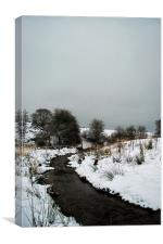 Let it snow., Canvas Print