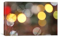 Light Bokeh, Canvas Print