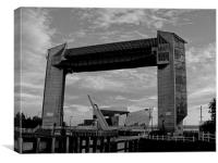 Hull Tidal Barrier, Canvas Print