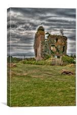 Tarbet Castle, Canvas Print