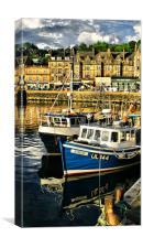 Oban Harbour, Canvas Print
