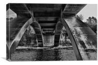 Under Garrion Bridge, Canvas Print