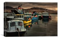 Fishing Fleet, Canvas Print