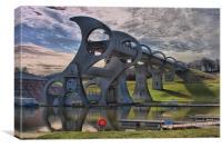 The Falkirk Wheel, Canvas Print