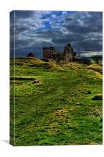 the Ruins, Canvas Print
