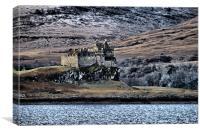 Duart Castle, Canvas Print