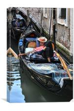 Sleeping Gondolier.., Canvas Print