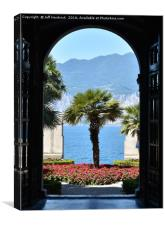 Doorway with a View, Canvas Print