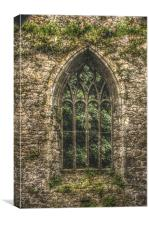 Church window, Canvas Print