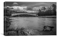Spey Bridge, Canvas Print
