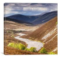 Glen Avon, Canvas Print
