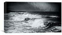 Surf & Snow, Canvas Print