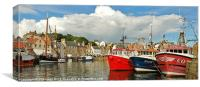 The Fleet Pittenweem, Canvas Print