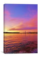 Anstruther Colours, Canvas Print