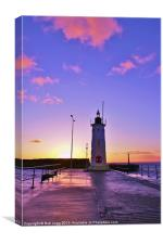 Anstruther Lighthouse, Canvas Print