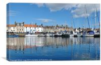 Anstruther Blues, Canvas Print
