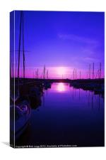 Peaceful Harbour, Canvas Print