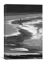 Beach Runner, Canvas Print