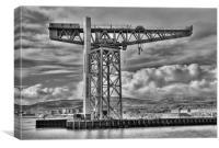 Titan Crane, Clydebank, Canvas Print